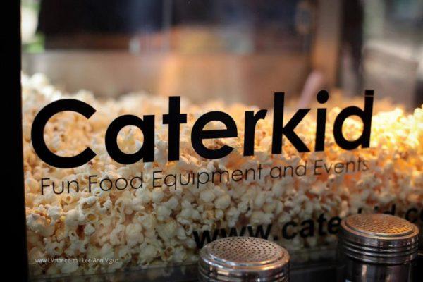 Caterkid Logo Popcorn